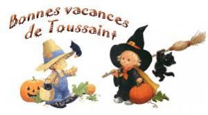 Vacances toussaint 2019
